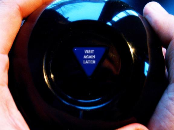 Magic Eight Ball generator from RedKid.Net